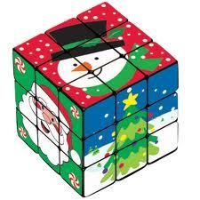 rubik's snowman